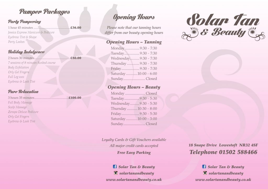 prices for tanning sessions